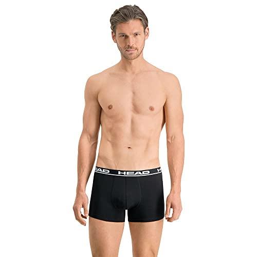 HEAD Mens Men's Basic Boxers Boxer Shorts, Black, XXL