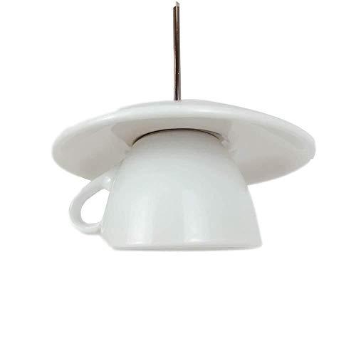 Kroonluchter theekopje hanglampen E27 Moderne keramische theepot plafond hanglamp enkele kop decoratie kleine kroonluchter eenvoudige restaurant passage slaapkamer keuken bar koffie huishoudverlichting