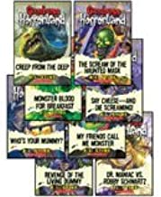 Goosebumps Horrorland Set, Books 1-8 (Revenge of the Living Dummy, Creep from the Deep, Monster Blood for Breakfast, The Scream of the Haunted Mask, Dr. Maniac vs. Robby Schwartz, Who's Your Mummy?, My Friends Call Me Monster, and Say Cheese -- and Die Screaming!)