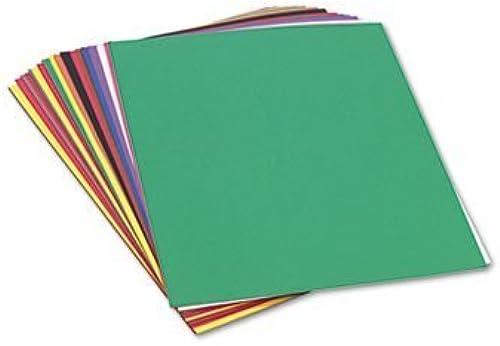 presentando toda la última moda de la calle Pacon 6523 Construction Paper, Paper, Paper, 58 lbs., 24 x 36, Assorted, 50 Sheets Pack by Pacon  mejor marca