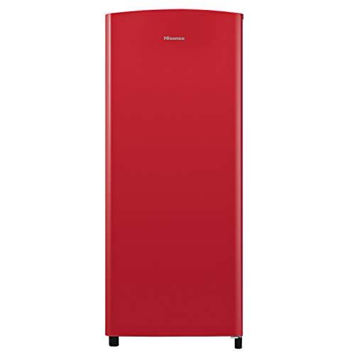 Hisense Rr220D4Erf Frigorifero Monoporta Comscomparto Congelatore, 164 L, Rosso