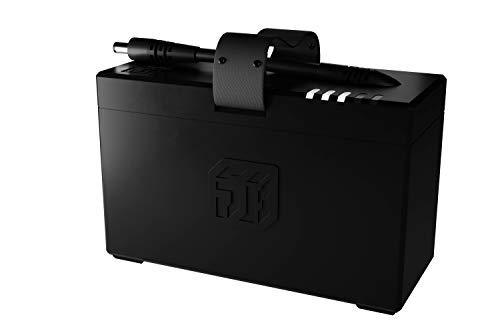 BATTERYBOKS - Wiederaufladbarer Akku für SOUNDBOKS Lautsprecher (40h durchschnittliche Akkulaufzeit, Gesamtladezeit 3,5h, LED Ladeanzeige)