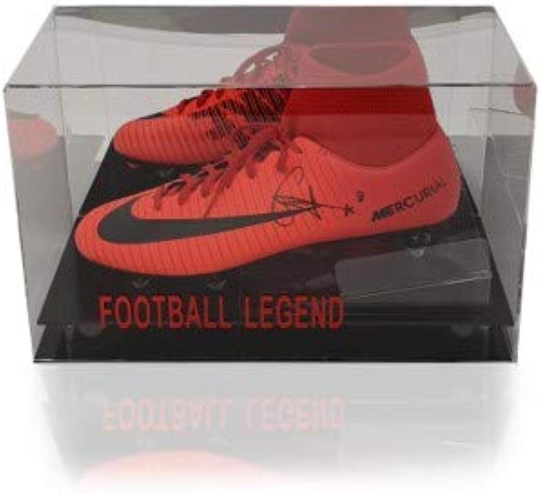 Nike Mercurial Fuballschuh Naby Keita, handsigniert, Rot
