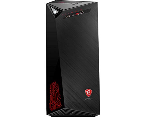 MSI Infinite 8RC-607EU - Computer desktop (Intel Core i7-8700, 16 GB di RAM, HDD da 1 TB e SSD da 256 GB, NVIDIA GeForce GTX 1060 Aero ITX, Windows 10