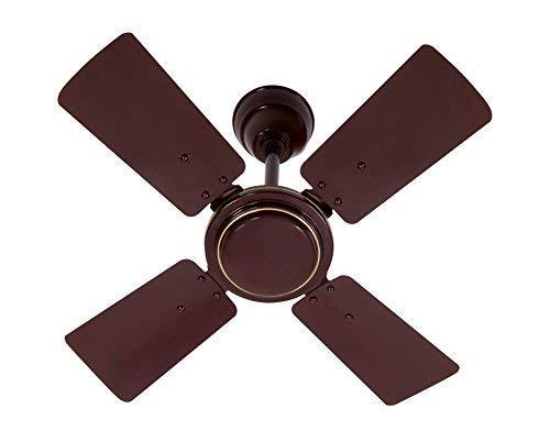 "MinMax 24"" Activa 4 Blade Hi-Speed Ceiling Fan-Brown"