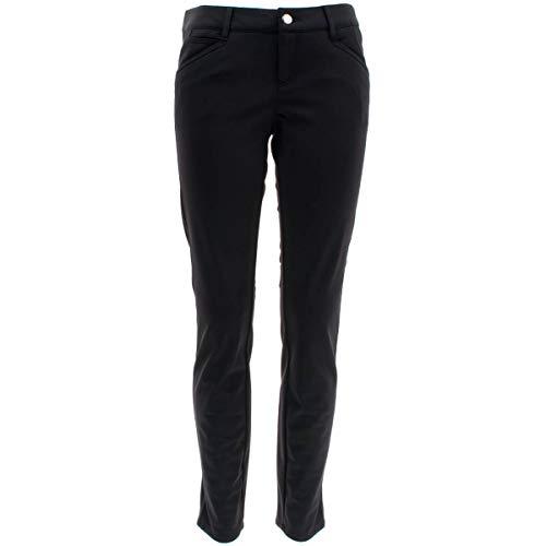 ALBERTO Damen Hose Golfhose Mona L Super Jersey in Schwarz Größe 40