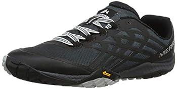 Merrell Women s Glove 4 Trail Runner,Black,8 M US