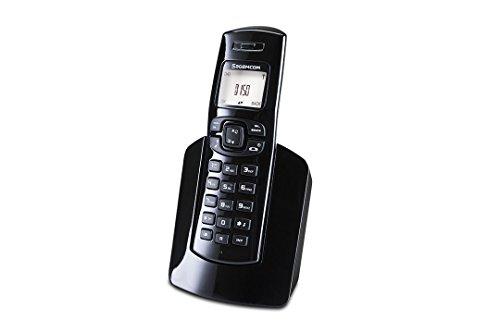 Sagemcom D150 - Teléfono fijo inalámbrico, color negro