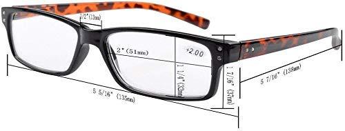 Eyekepper Mens Vintage Reading Glasses-5 Pack Include Reading Sunglasses for Men Outdoor ReadingReader Eyeglasses Women