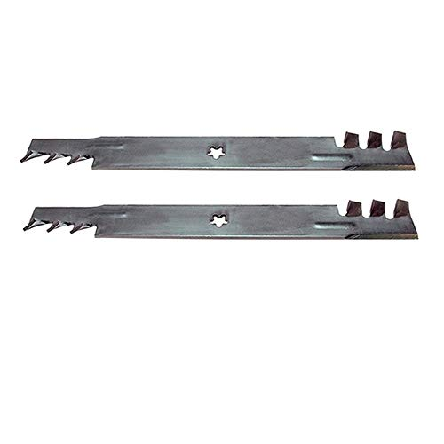 (2) Gator Style Mulching 3-in-1 Blades to Replace 134149 138971 for Craftsman AYP Fits Husqvarna
