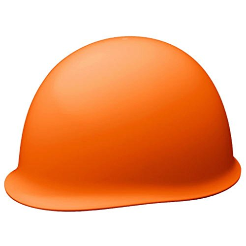 ミドリ安全 ヘルメット SCMPC RA α ライトオレンジ