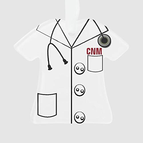 onepicebest Christmas Tree Hanging Ornaments, Lab Coat Cnm T-Shirt Ornament Xmas Customizable for Holiday Wedding Party Decoration Tree Ornaments, Adorable Xmas Gifts