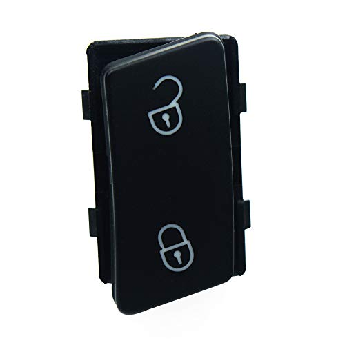 YuQiLin Control de la Puerta Cerradura Central de Bloqueo del Interruptor de desbloqueo Seguridad/Ajuste para -VW TOURAN/Volkswagen Caddy 2004-2015 / OE: 1TD 962 125C 1T0 962 125B