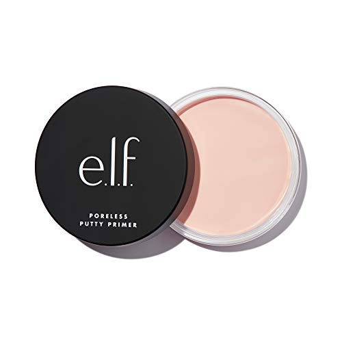 e.l.f. Poreless Putty Primer, Silky, Skin-Perfecting, Lightweight, Long Lasting, Smooths, Hydrates, Minimizes Pores, Flawless Base, All-Day Wear, Flawless Finish, Ideal for All Skin Types, 0.74 Fl Oz