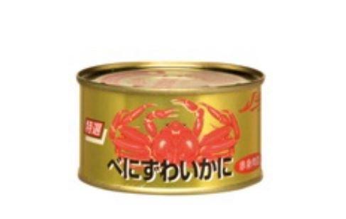 ストー缶詰『べにずわいかに 赤身肉詰』