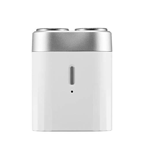 Adali-Inalámbrico y ligero Portátil Mini Shaver de afeitadora eléctrica Razor USB Carga IPX7 Trimador de afeitado masculino Trimmer Impermeable Limpieza facial Herramienta Asequible
