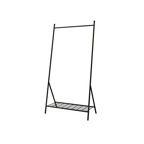Hallway Furniture AOYANQI-Percheros Escudo de Metal Rack, Dormitorio Boutiques Ropa Estante de exhibición de Simple Vertical multifunción Barra de Colgar Perchas Estilo Nórdico Multiusos