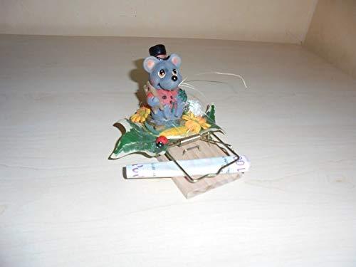 Achtung Mäuse Geldgeschenk Mausefalle Geld zum Geburtstag