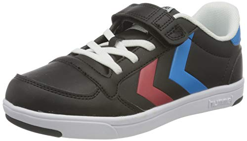 hummel Unisex Kinder Stadil Light Quick Jr Sneaker, Schwarz, 35 EU