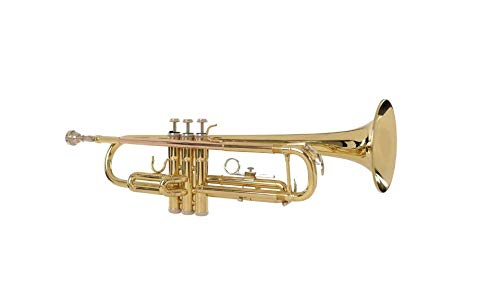 Havana M5210 Bb Trumpet - Gold Lacquer Finish Sold By Chennai Musicals