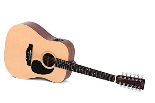 Guitarra Acústica/Electroacústica Sigma DM12 E+
