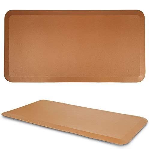 Kitchen Anti Fatigue Mat Standing Desk Mat - SoftSaver 20 x 42 Inches - Floor Mat Sit Stand Workstation Office Floor Mats - Non-Slip Grip Red Mat