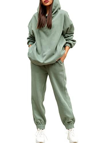 Fixmatti Women Hooded Sweatsuit