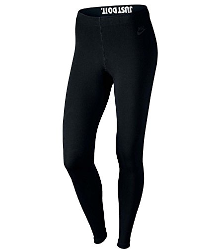 Nike Damen Leg-A-See Just Do It Leggings, Black, L