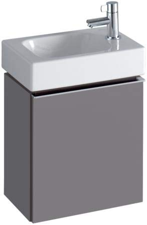 Keramag iCon xs Handwaschbecken Unterschrank 840039 370x420x280mm, Platin Hochglanz