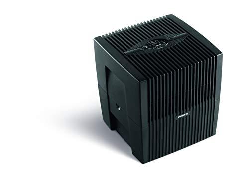 Venta Luftwäscher Comfort Plus LW25 Luftbefeuchtung und Luftreinigung (bis 10 µm Partikel) für Räume bis 45 qm, Brillantschwarz, mit digitaler Steuerung