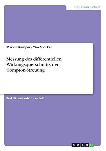 Messung des differentiellen Wirkungsquerschnitts der Compton-Streuung
