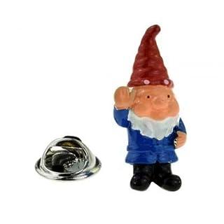Cute Garden Gnome Lapel Badge