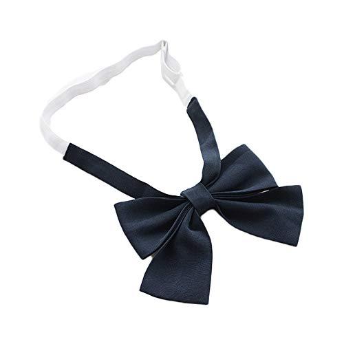 noeud papillon japonais uniforme uniforme mesdames lolita accessoires (Navy)
