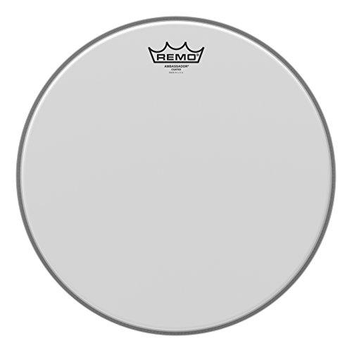 Remo Schlagzeugfell Drum Head Ambassador weiss aufgeraut, coated 14