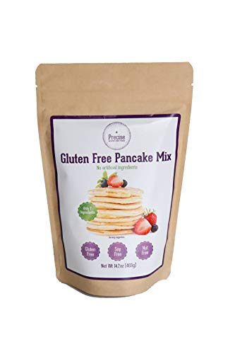 Precise Gluten Free Pancake & Waffle Mix - Nut free - Soy Free - Dairy Free