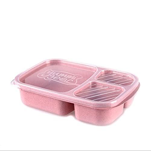 Zhandou Caja de almuerzo de la cáscara del arroz de la categoría alimenticia, caja de alimentos de la categoría alimenticia de la paja del trigo de la fibra a cuadros resistente a altas temper