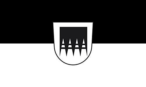 Unbekannt magFlags Tisch-Fahne/Tisch-Flagge: Asselfingen 15x25cm inkl. Tisch-Ständer