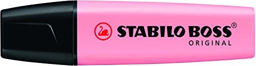 Stabilo Boss Pastel Markeerstiften, enkele kleuren Standaard Soupçon De Rose