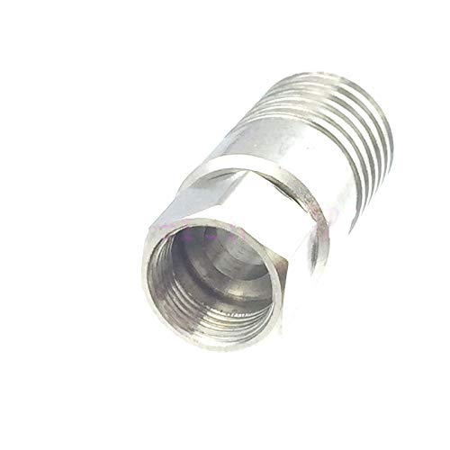 10pcs Connector F TV Male Crimp for RG11 Cable RF COAXIAL