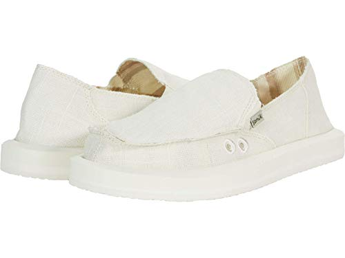 Sanuk Donna Soft Top Hemp White 10 B (M)