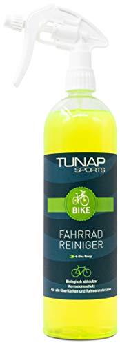 TUNAP SPORTS Fahrradreiniger, 1000 ml Spray | Pflege und Wartung von MTB bis Rennrad - Rahmen und Teile (1 Liter E-Bike Ready)