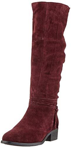 Tamaris 1-1-25561-23, Botas Altas para Mujer, Rojo (Vino 558), 40 EU