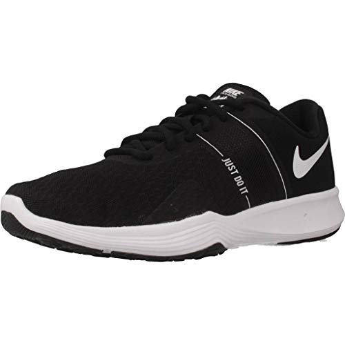 Nike City Trainer 2 Women's Training, Scarpe da Ginnastica Basse Donna, Nero (Black/White 001), 39 EU