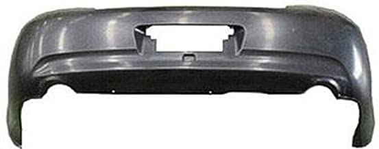 CPP Primed Rear Bumper Cover Replacement for 2007-2009 Infiniti G35, G37 Sedan