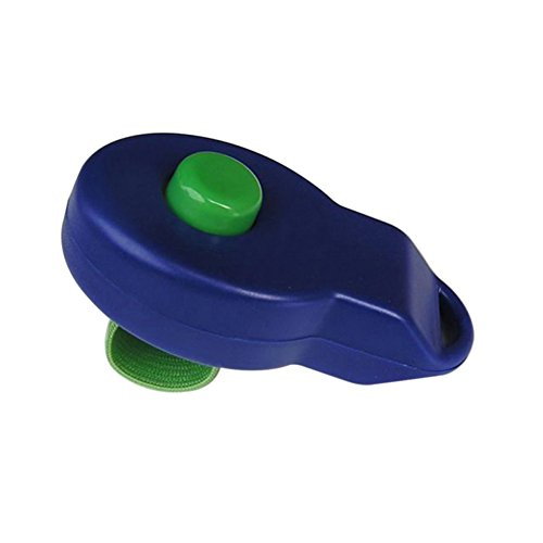 RONSHIN Good for Training Ring Whistle Pet Dog Training Clicker Dog Training Sounder Pet Puppy Trainer blue