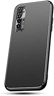 حافظة MOONCASE Huawei Nova 7 5G، حافظة فاخرة صلبة من البولي كربونات ذات طلاء غير لامع لحماية الكاميرا ومقاومة للخدش والصدم...