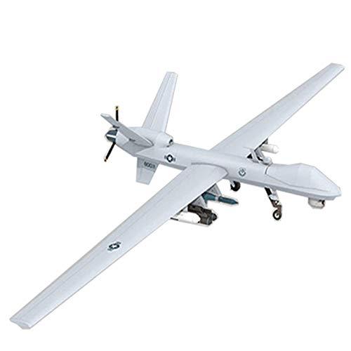 QLRL 63Cm Mq-9 Harvester Scout Drohne DIY 3D-Papierkarte Modellbau Spielzeug Militär