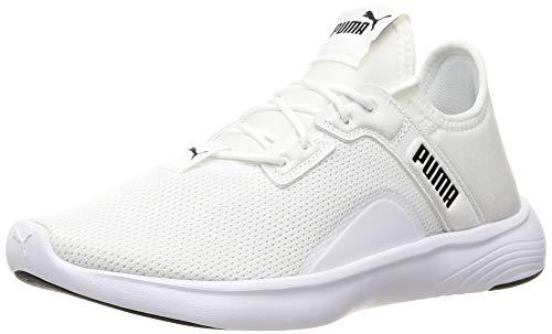 Puma 193707, Zapatillas para Correr de Carretera Mujer, Blanco Negro, 38.5 EU