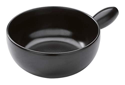 KUHN RIKON Caquelon Classic, induktion, schwarz, 23 cm, Fondue, Ceramic