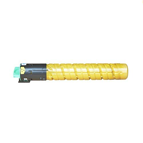 HYYH for Ricoh MP C2550C Compatible for Ricoh Aficio MP C2030 C2530 C2050 2550 Printer Toner Cartridge Replacement Ink Toner Office Supply, Superb Printout Yellow